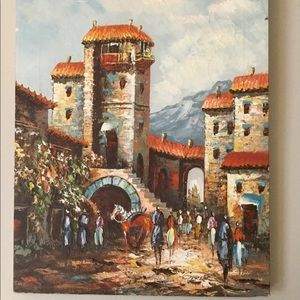 Garber Oil Painting VINTAGE 1930s France 🇫🇷